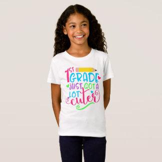 1st Grade Just Got A Lot Cuter Back to School T-Shirt