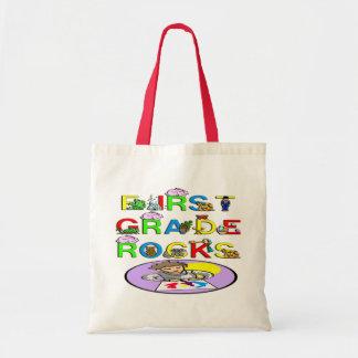 1st Grade Rocks Budget Tote Bag