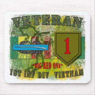 1st Inf Div-Vietnam Mouse Mats