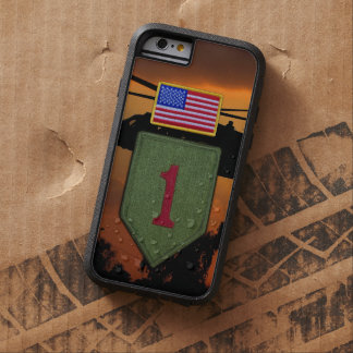 1st infantry big red 1 veterans vets tough xtreme iPhone 6 case