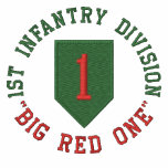 "1st Infantry ""Big Red One"" Embroidered Polo Shirt"