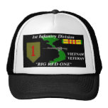 """1st Infantry Division""""Big Red One"""" Ball Caps Cap"""