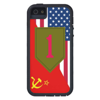 """1st Infantry Division """"Cold War Paint Scheme"""" iPhone 5 Covers"""