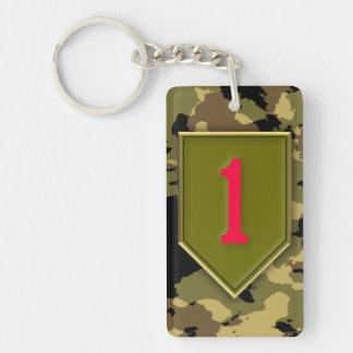 1st Infantry Division Key Ring