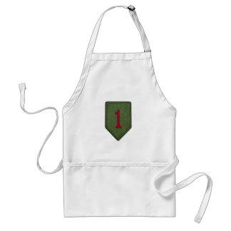1st infantry division patch vets bbq apron