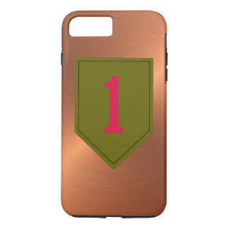 """1st Infantry Division """"The Big Red One"""" iPhone 8 Plus/7 Plus Case"""