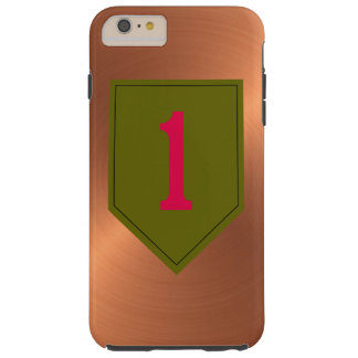 "1st Infantry Division ""The Big Red One"" Tough iPhone 6 Plus Case"