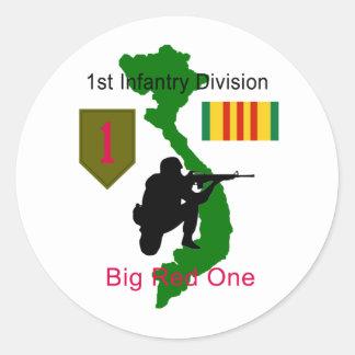 1st Infantry Division Vietnam Vet Stickers