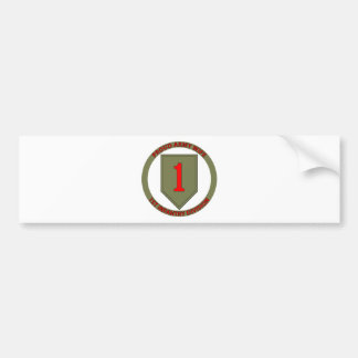 1st Infantry Wife Bumper Stickers
