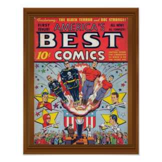 1st Issue America's Best Comics Cover Poster