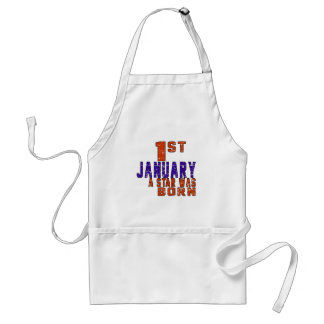 1st January a star was born Aprons