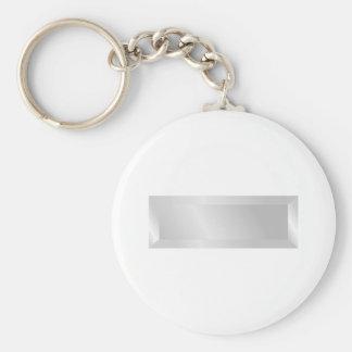 1st Lieutenant Basic Round Button Key Ring