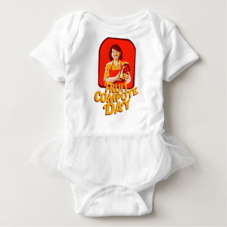 1st March - Fruit Compote Day - Appreciation Day Baby Bodysuit