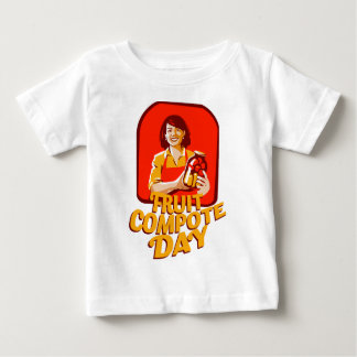 1st March - Fruit Compote Day - Appreciation Day Baby T-Shirt