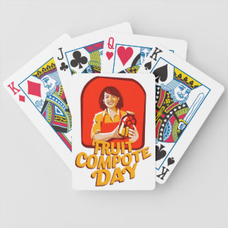 1st March - Fruit Compote Day - Appreciation Day Bicycle Playing Cards
