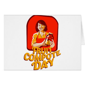 1st March - Fruit Compote Day - Appreciation Day Card