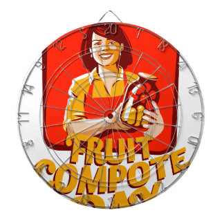 1st March - Fruit Compote Day - Appreciation Day Dartboard
