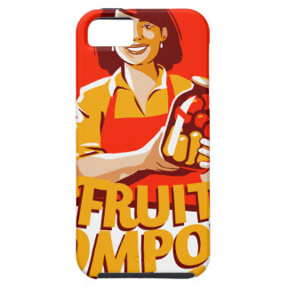 1st March - Fruit Compote Day - Appreciation Day iPhone 5 Case