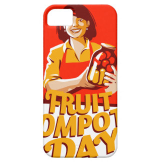 1st March - Fruit Compote Day - Appreciation Day iPhone 5 Cover