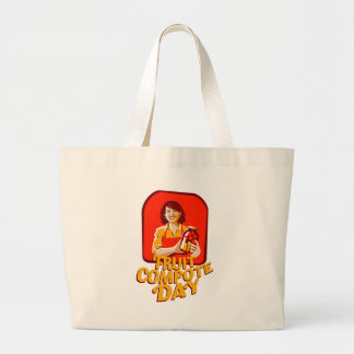 1st March - Fruit Compote Day - Appreciation Day Large Tote Bag