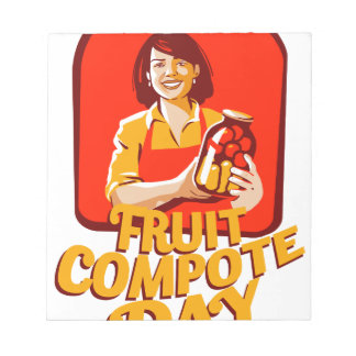 1st March - Fruit Compote Day - Appreciation Day Notepad