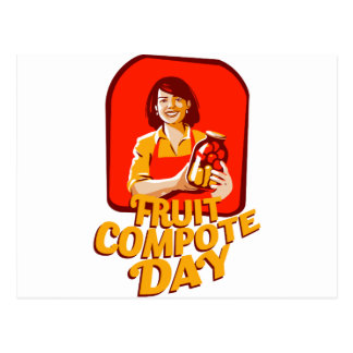 1st March - Fruit Compote Day - Appreciation Day Postcard