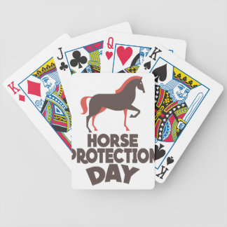 1st March - Horse Protection Day Bicycle Playing Cards