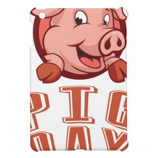 1st March - Pig Day iPad Mini Case