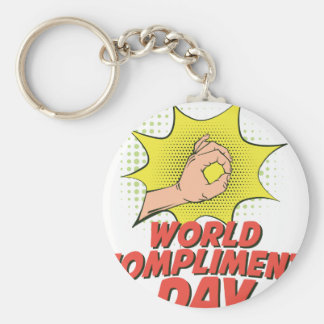 1st March - World Compliment Day Key Ring