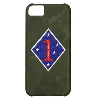 1st Marine Division The Old Breed WW II Camo Cover For iPhone 5C