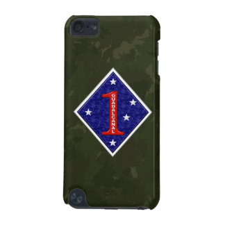 """1st Marine Division """"The Old Breed"""" WW II Camo iPod Touch 5G Cover"""