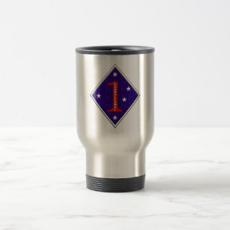 1st Marine Division Travel Mug