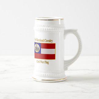 1st Maryland Cavalry Civil War Flag Mugs