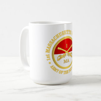 1st Massachusetts Volunteer Cavalry Coffee Mug