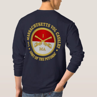 1st Massachusetts Volunteer Cavalry T-Shirt