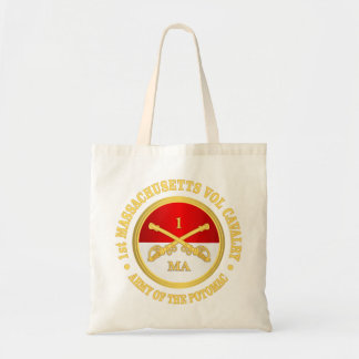 1st Massachusetts Volunteer Cavalry Tote Bag