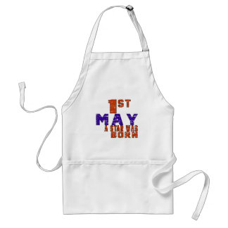 1st May a star was born Standard Apron