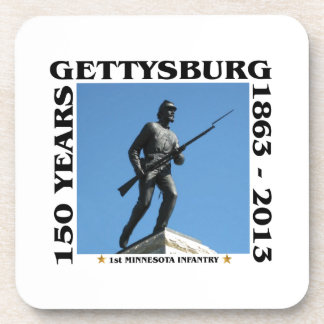 1st Minnesota Infantry - 150th Gettysburg Drink Coasters