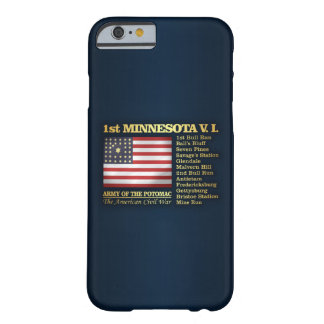 1st Minnesota Volunteer Infantry (BH) Barely There iPhone 6 Case