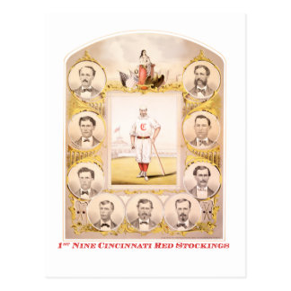1st Nine Postcard