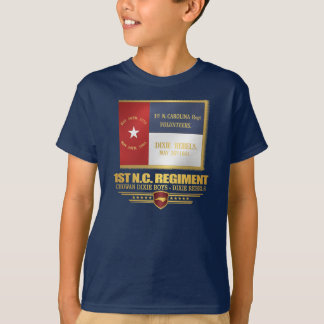 1st North Carolina Volunteer Infantry T-Shirt