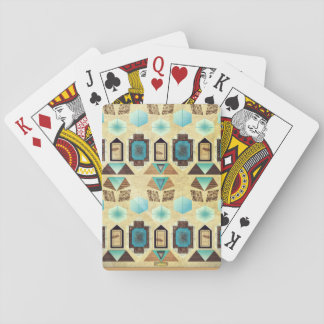 1st Pattern; Hexagon Shapes Playing Cards