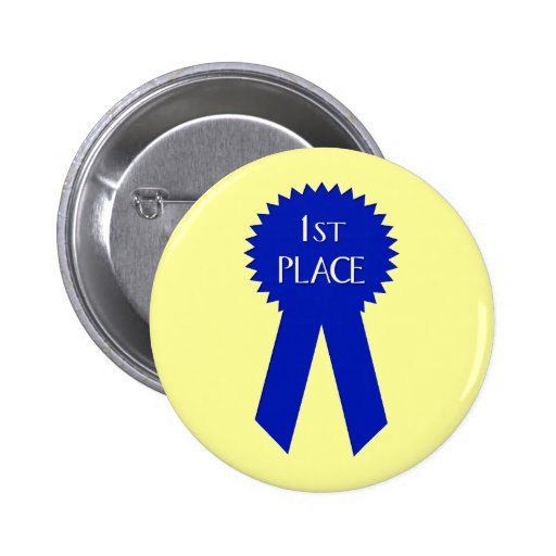 1st Place Button - Customized
