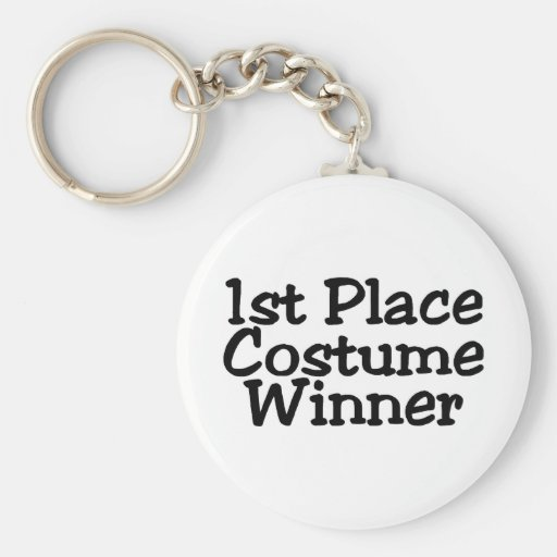 1st Place Costume Winner Keychains