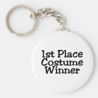 1st Place Costume Winner Key Chains