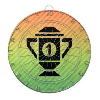 1st Place Trophy Design Dartboard
