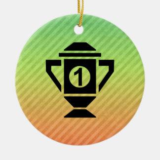 1st Place Trophy Design Ornaments