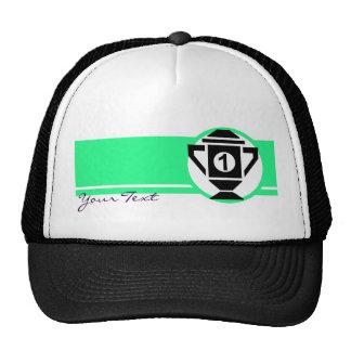 1st Place Trophy Design Mesh Hat