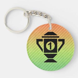 1st Place Trophy Design Acrylic Key Chains