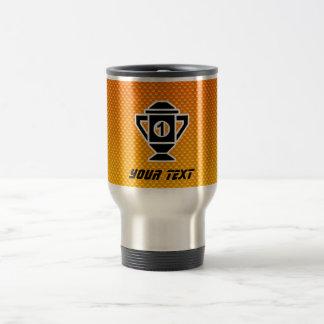 1st Place Trophy; Yellow Orange Mugs